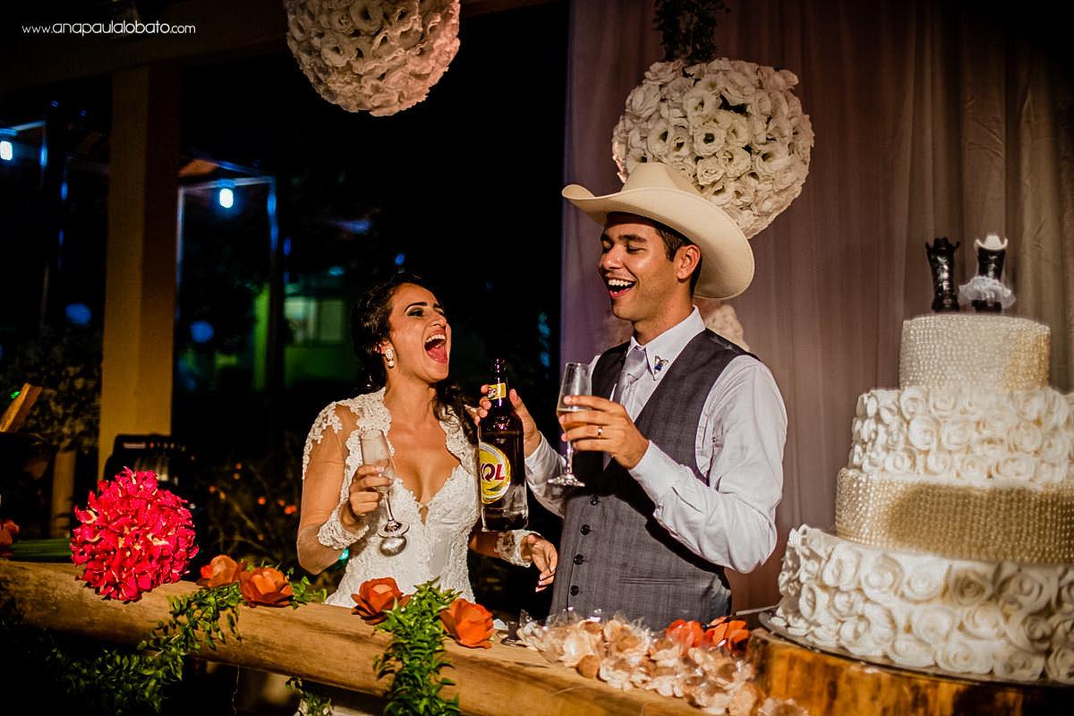 brinde casamento country