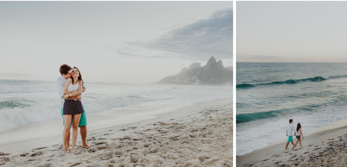 ideias de pre wedding na praia