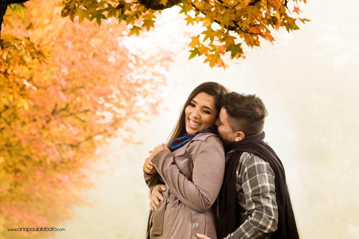 pre wedding em gramado no outono