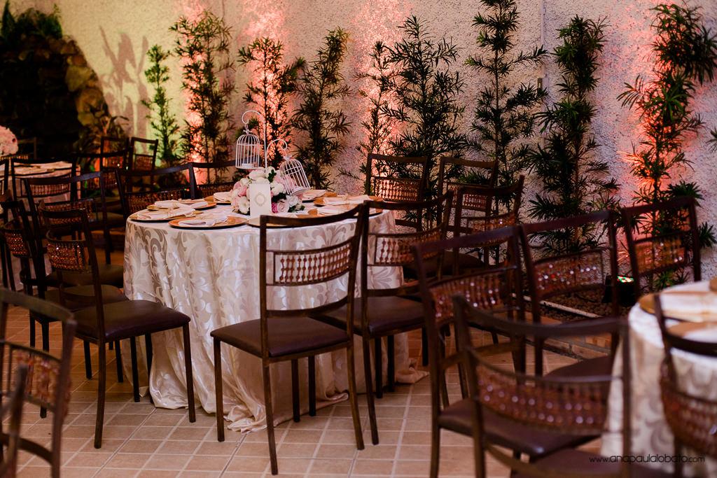 decoração casamento mesas