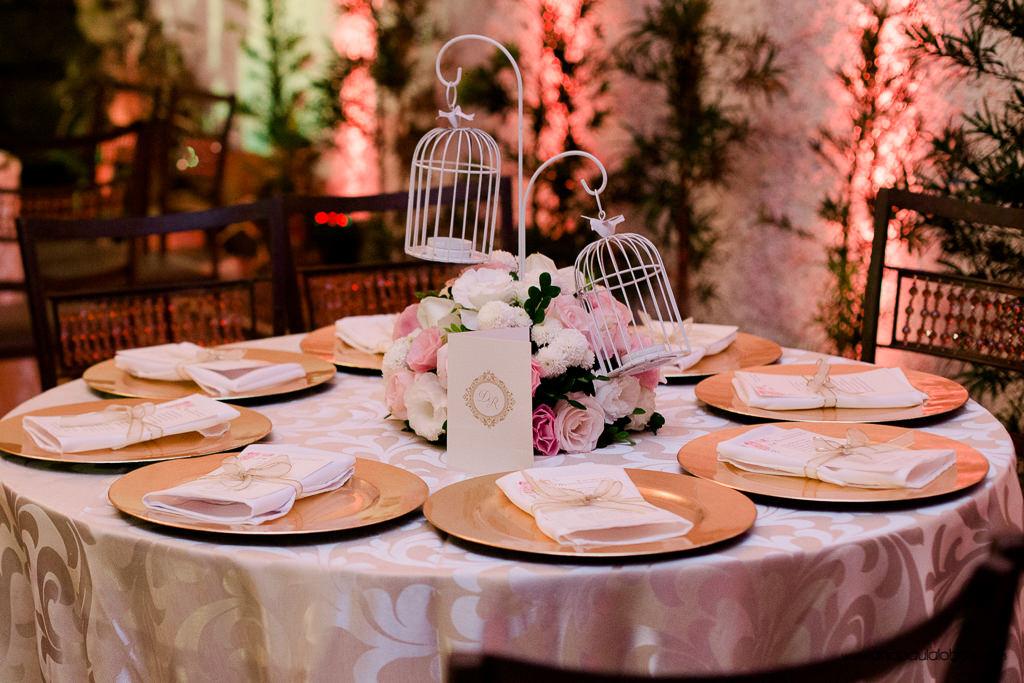 decoração casamento gaiolas