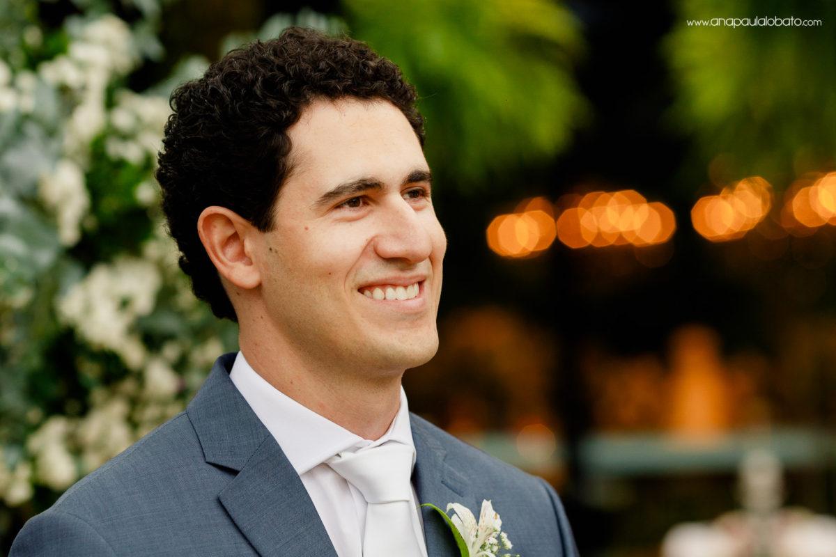 primeiro olhar do noivo