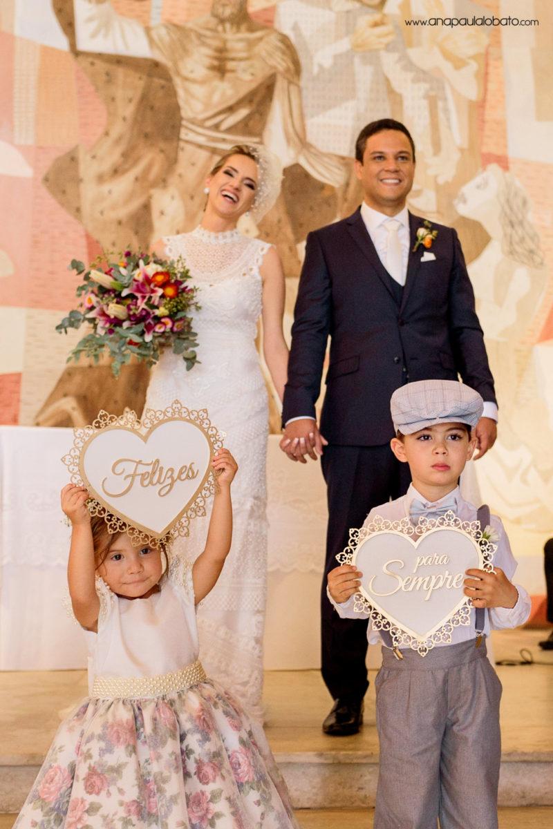 saida crianças casamento