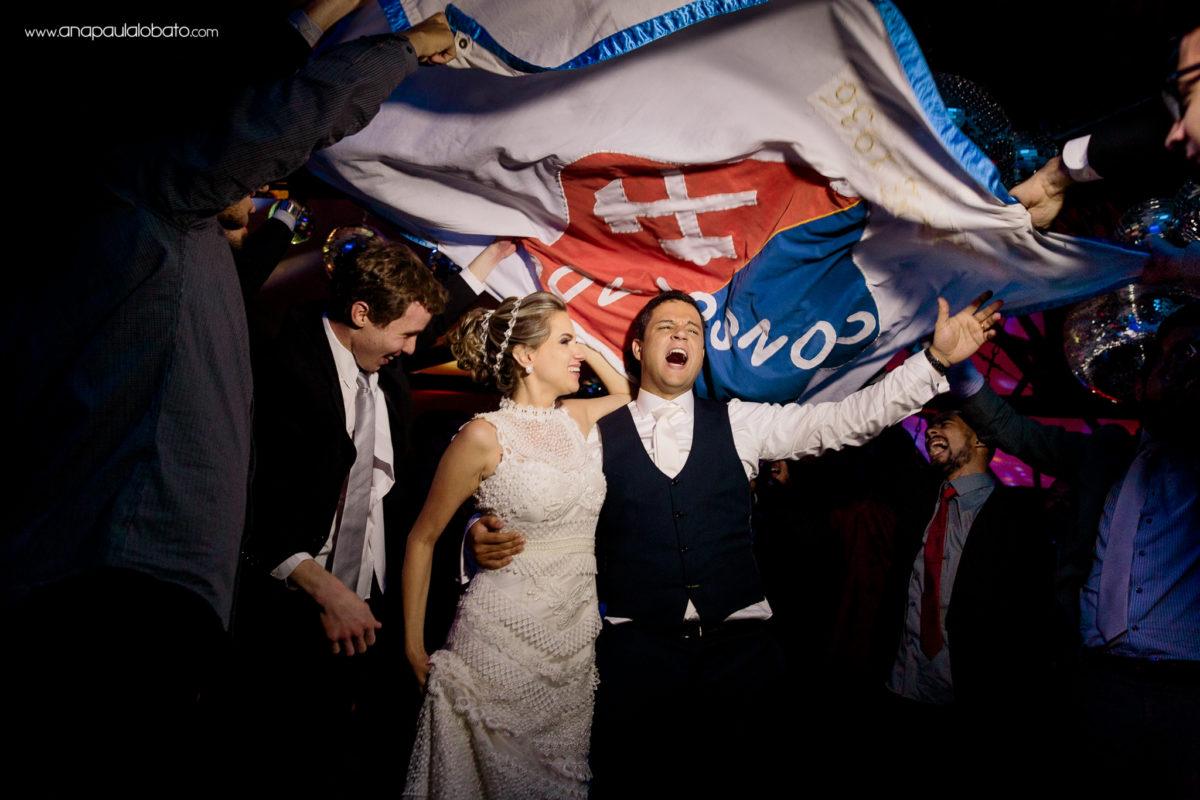 comemoração noivos
