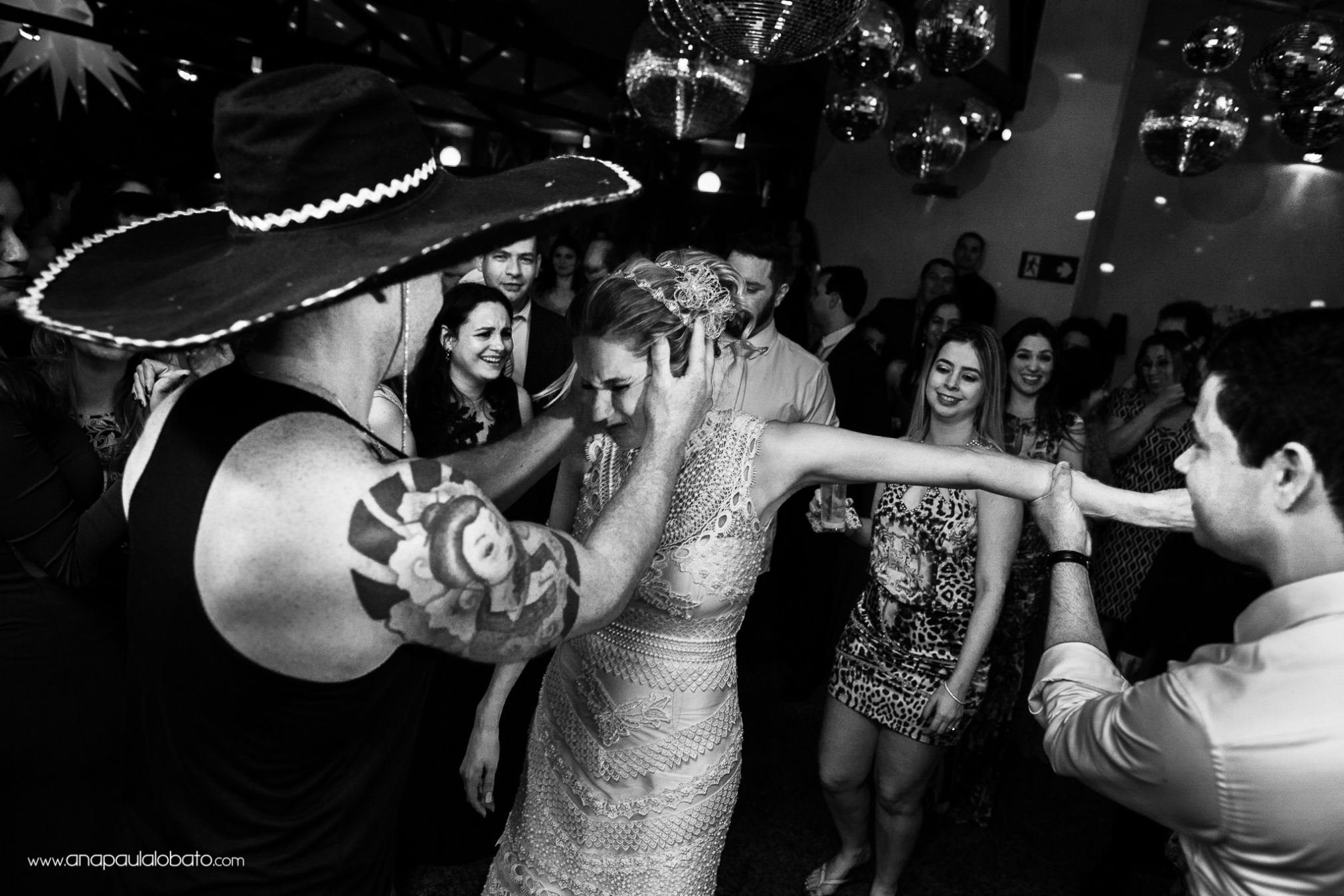 Bride has a shot of tequila and gets crazy