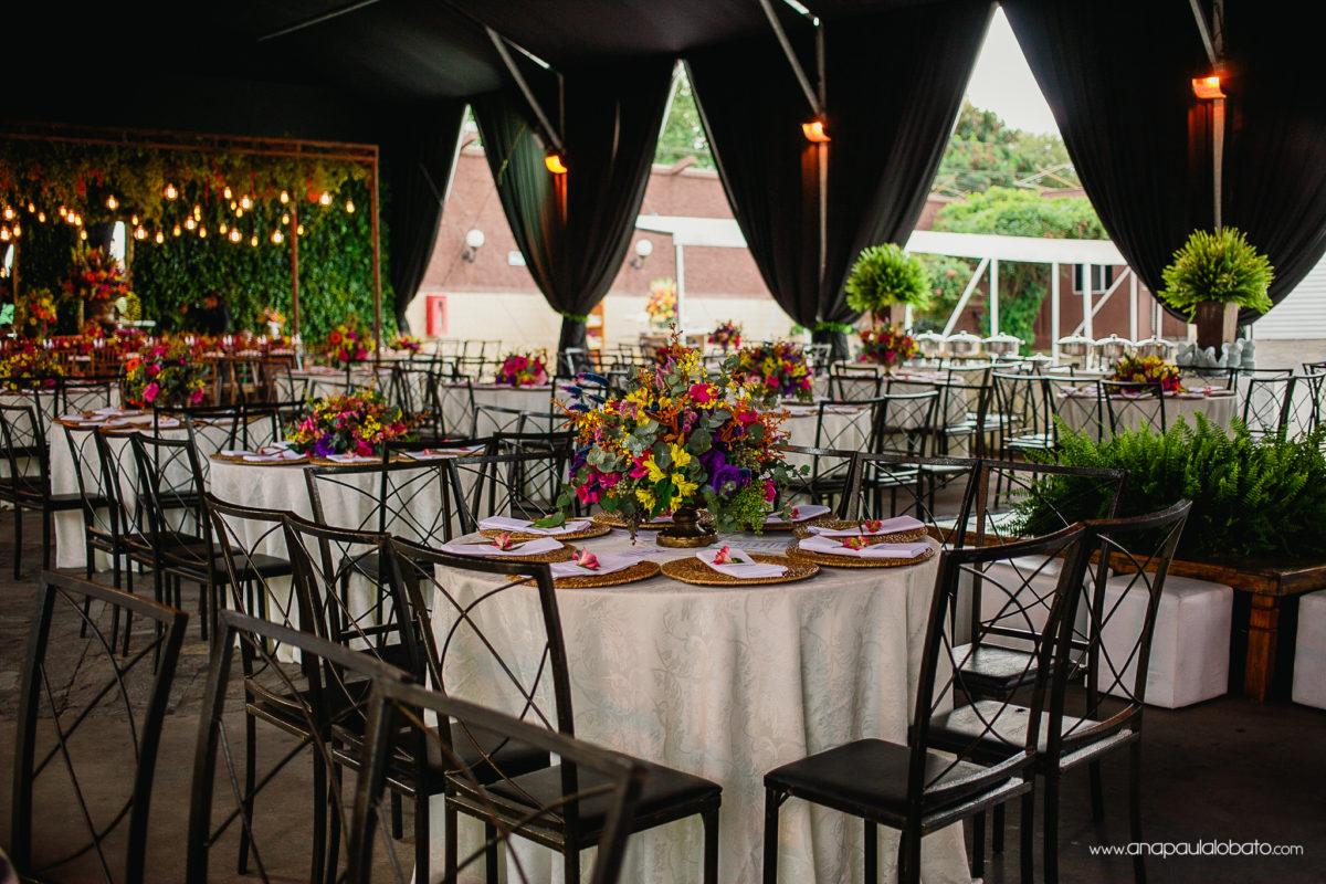 mesa arranjo casamento