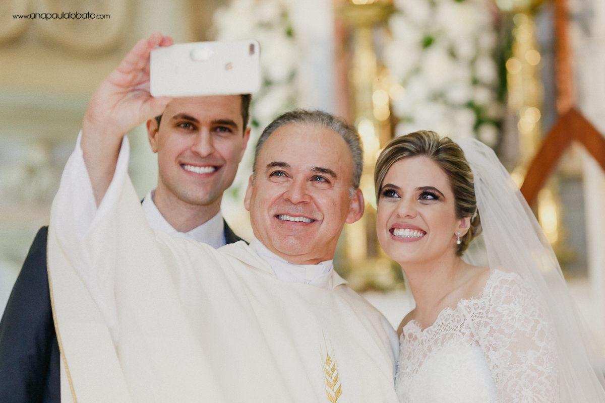 funny selfie priest