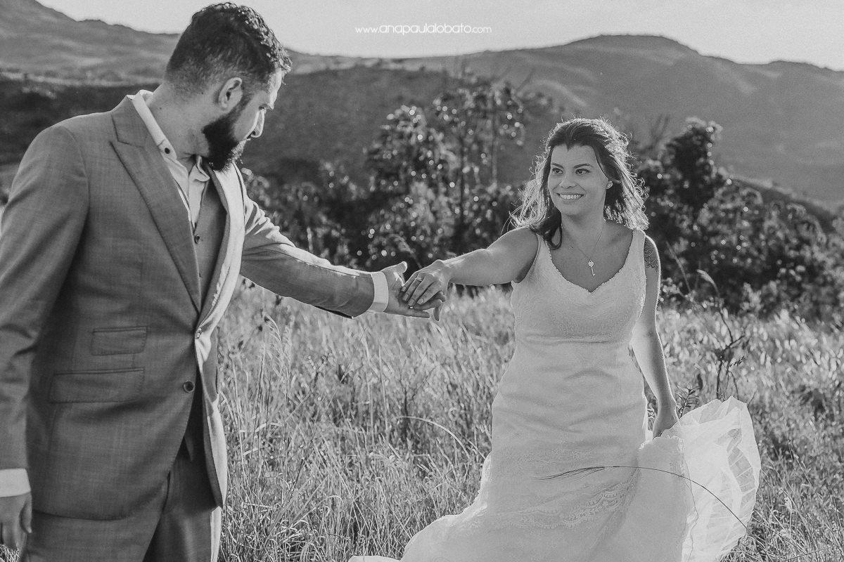 pos wedding romantico na serra do cipo