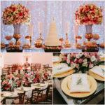decoração de casamento buffet rosa miranda