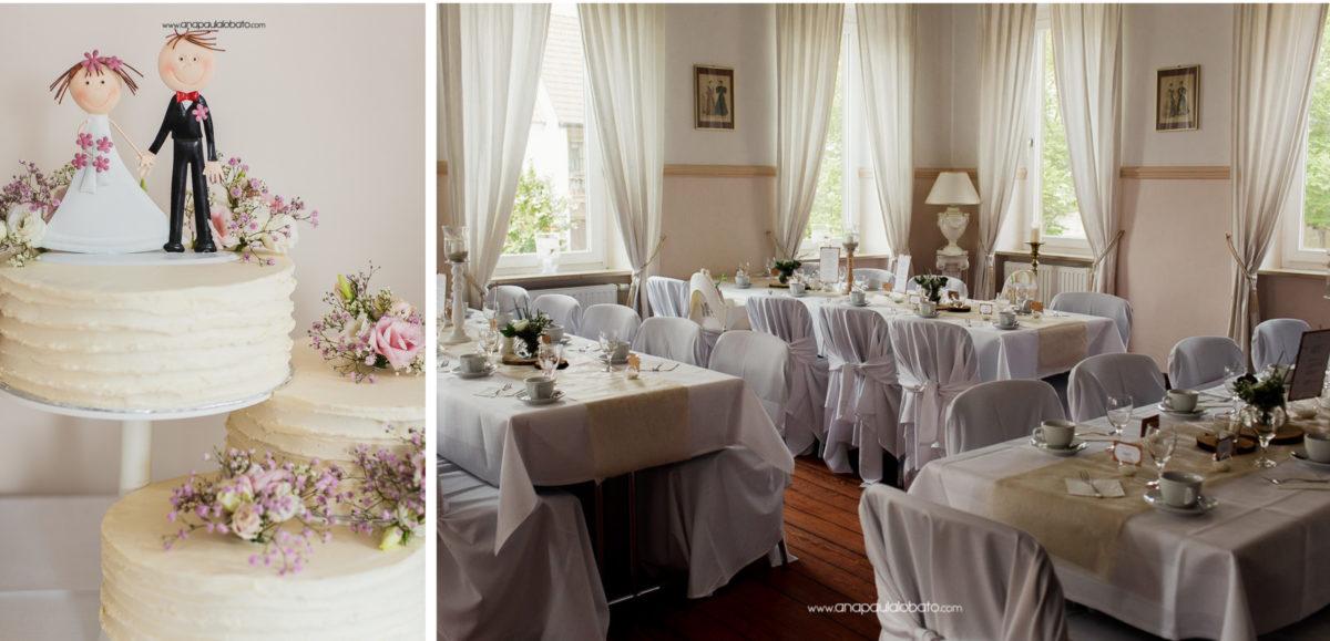 creative wedding deko
