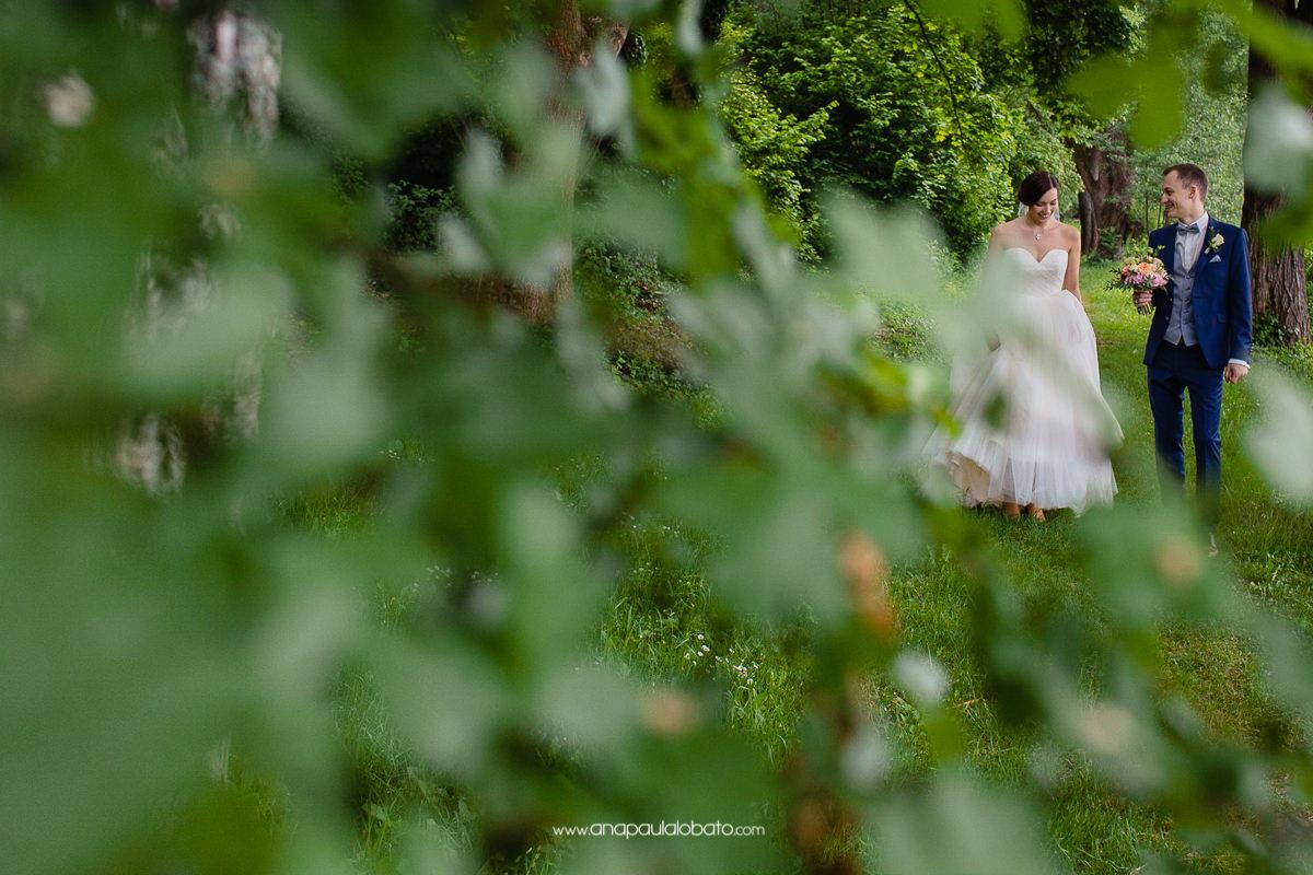 foto dos noivos na Alemanha