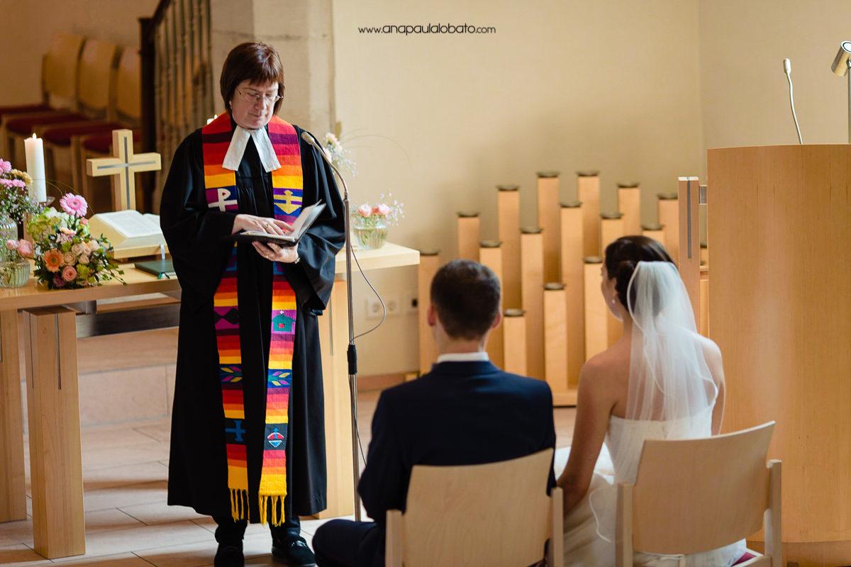 cerimônia de casamento na alemanha