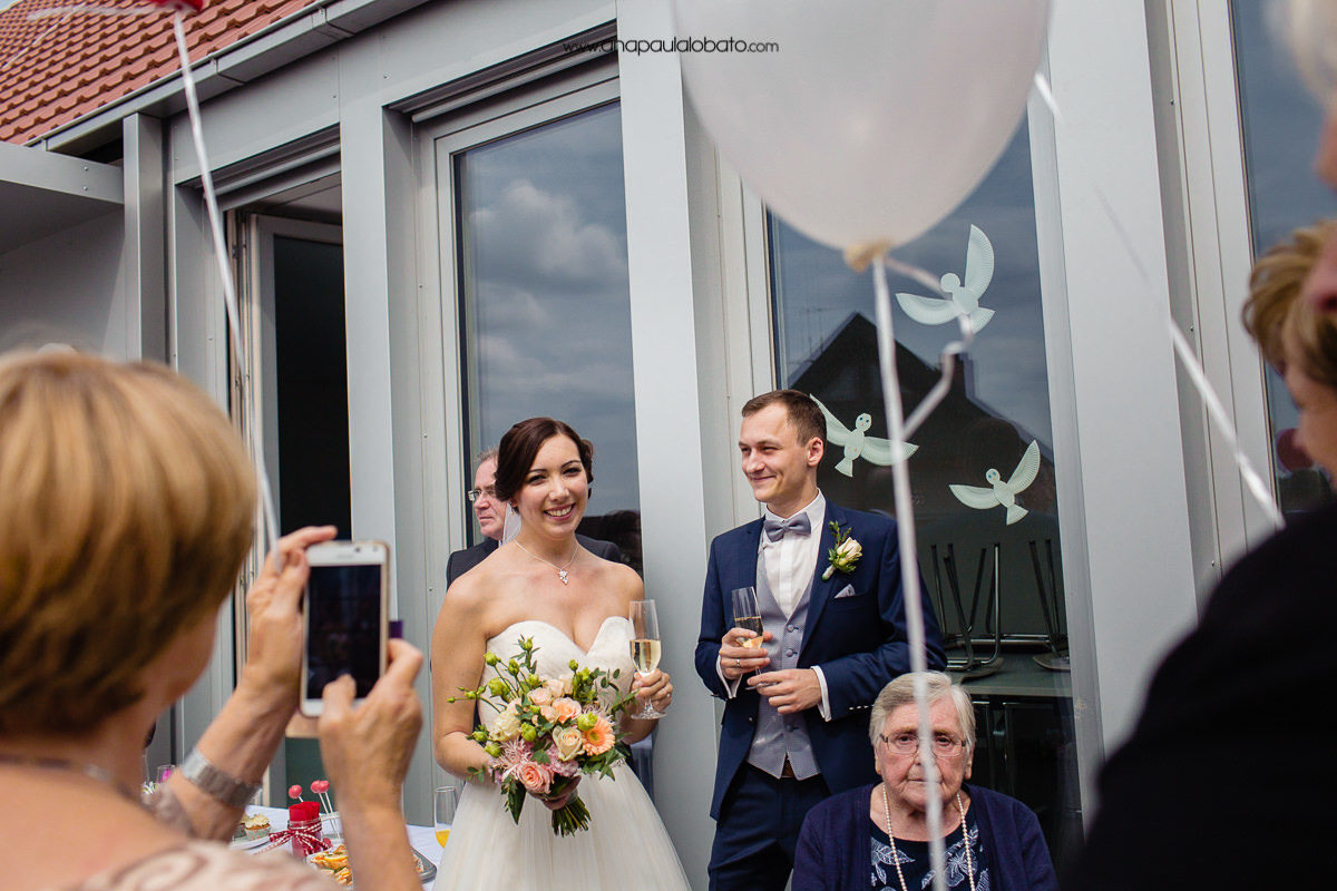 coffee and cake ater wedding in germany