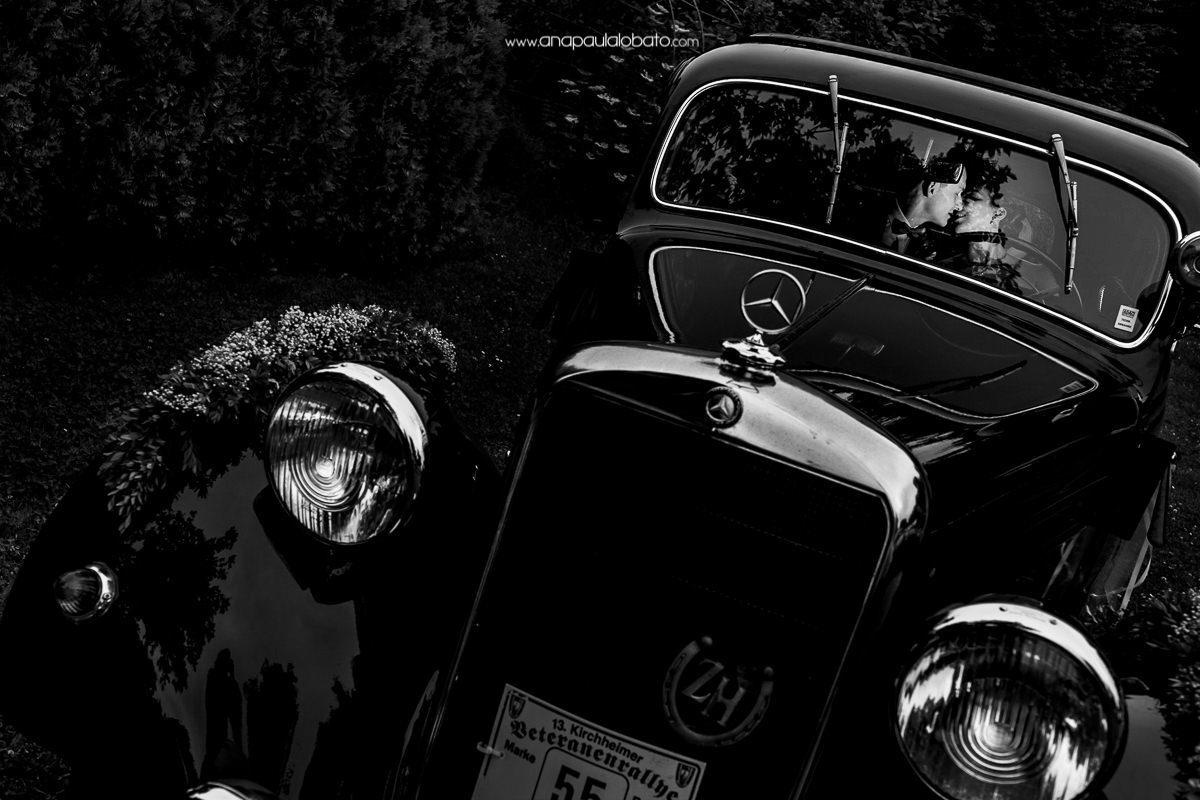 carro de casamento na alemanha