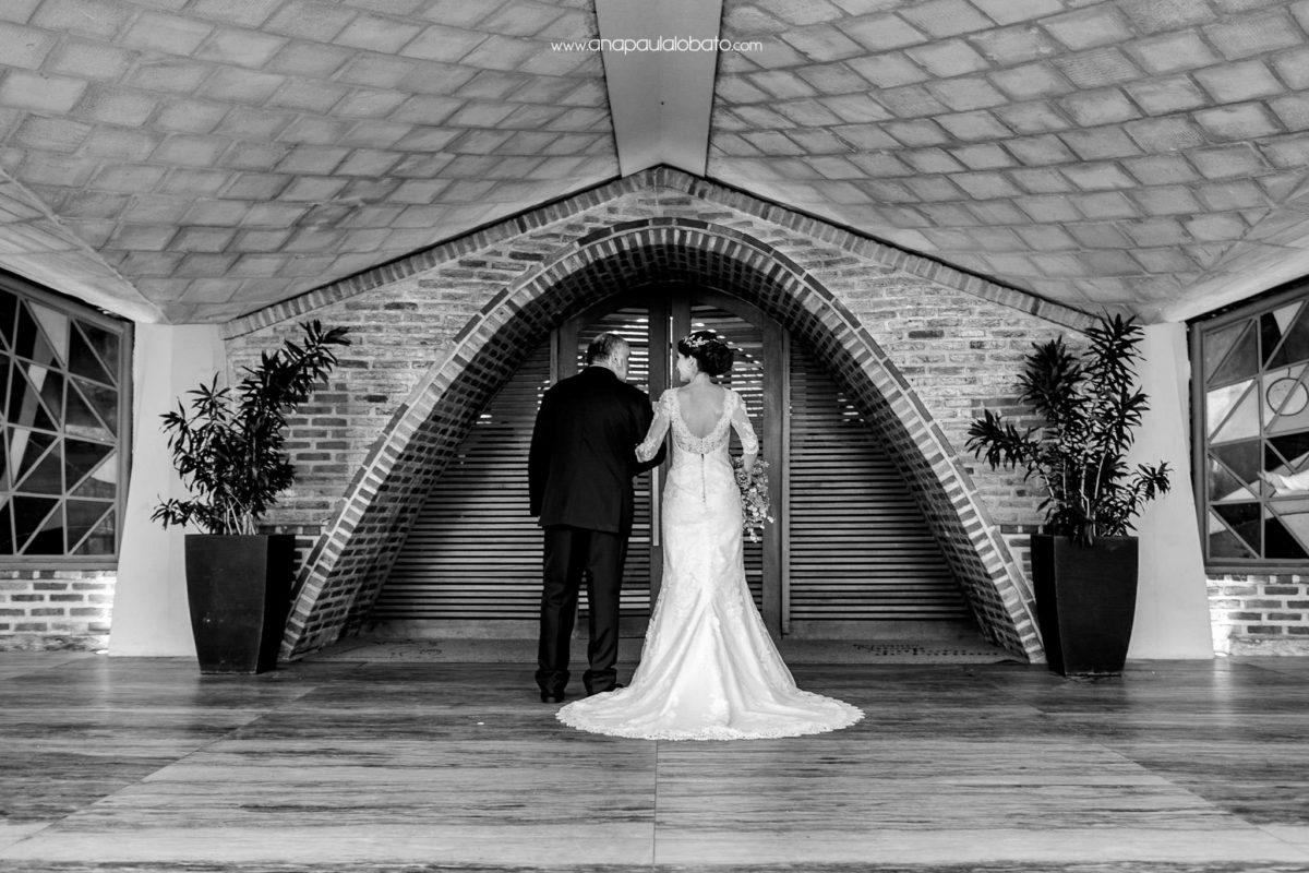 emotional moment bride