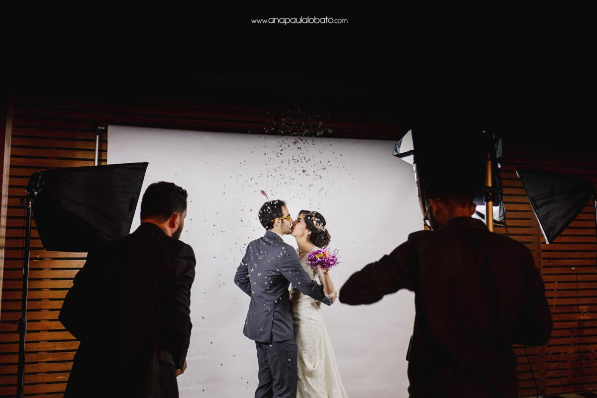 slow motion wedding