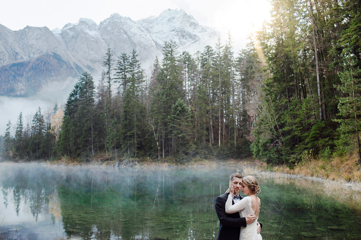 destination wedding in german lake