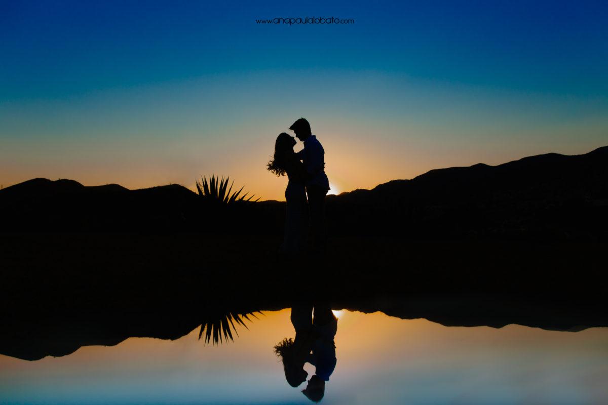 foto maravilhosa e criativa de casamento