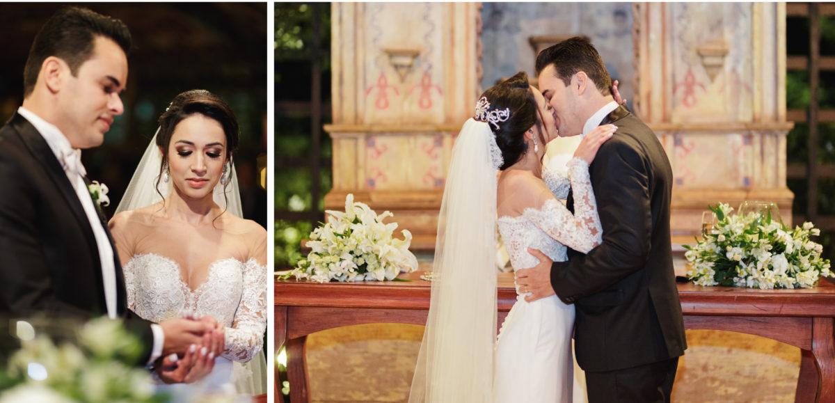 romantic and modern wedding