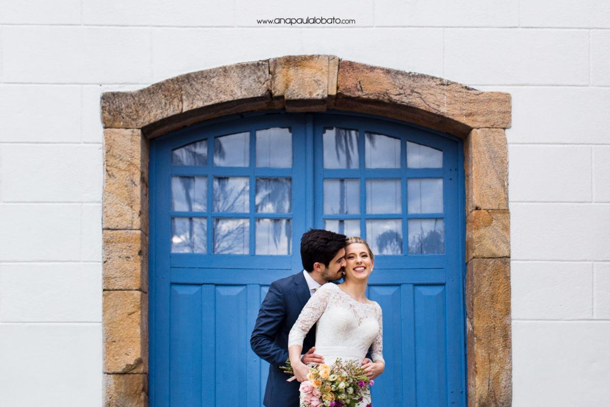 couple hugging in Unique Destination Wedding