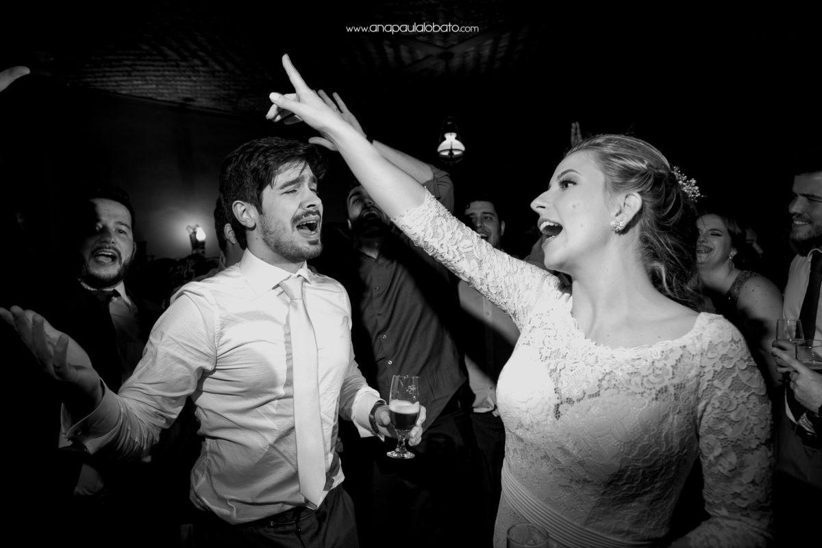 couple having inspiring wedding