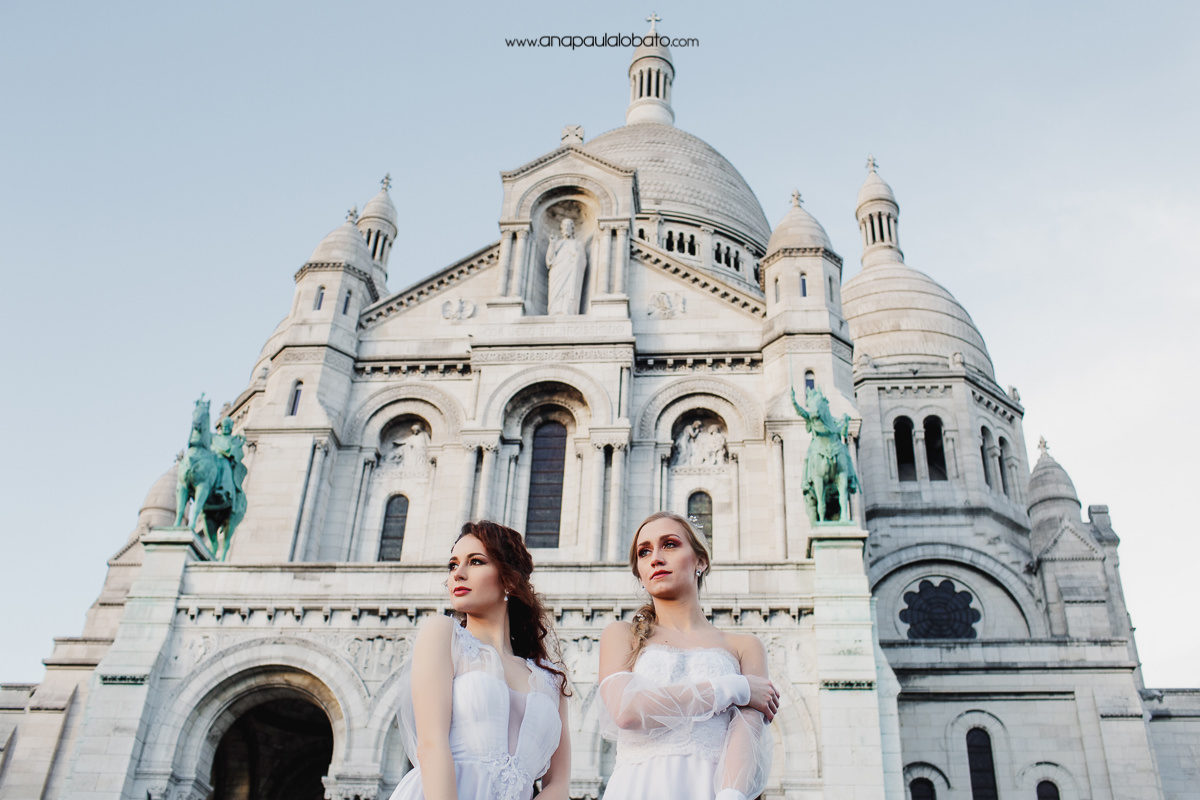 sacre coeur wedding photos