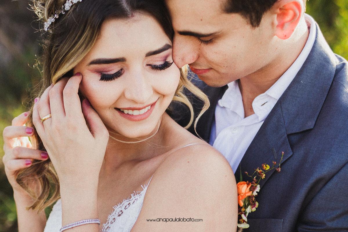fotos românticas de casamento