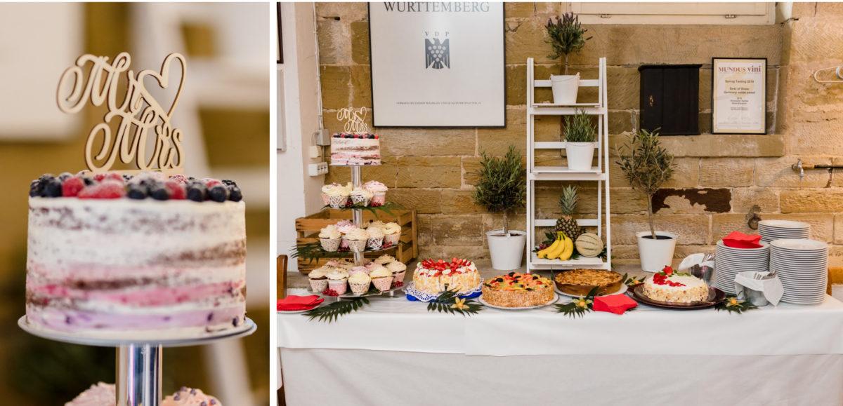 wedding cake at burg schaubeck