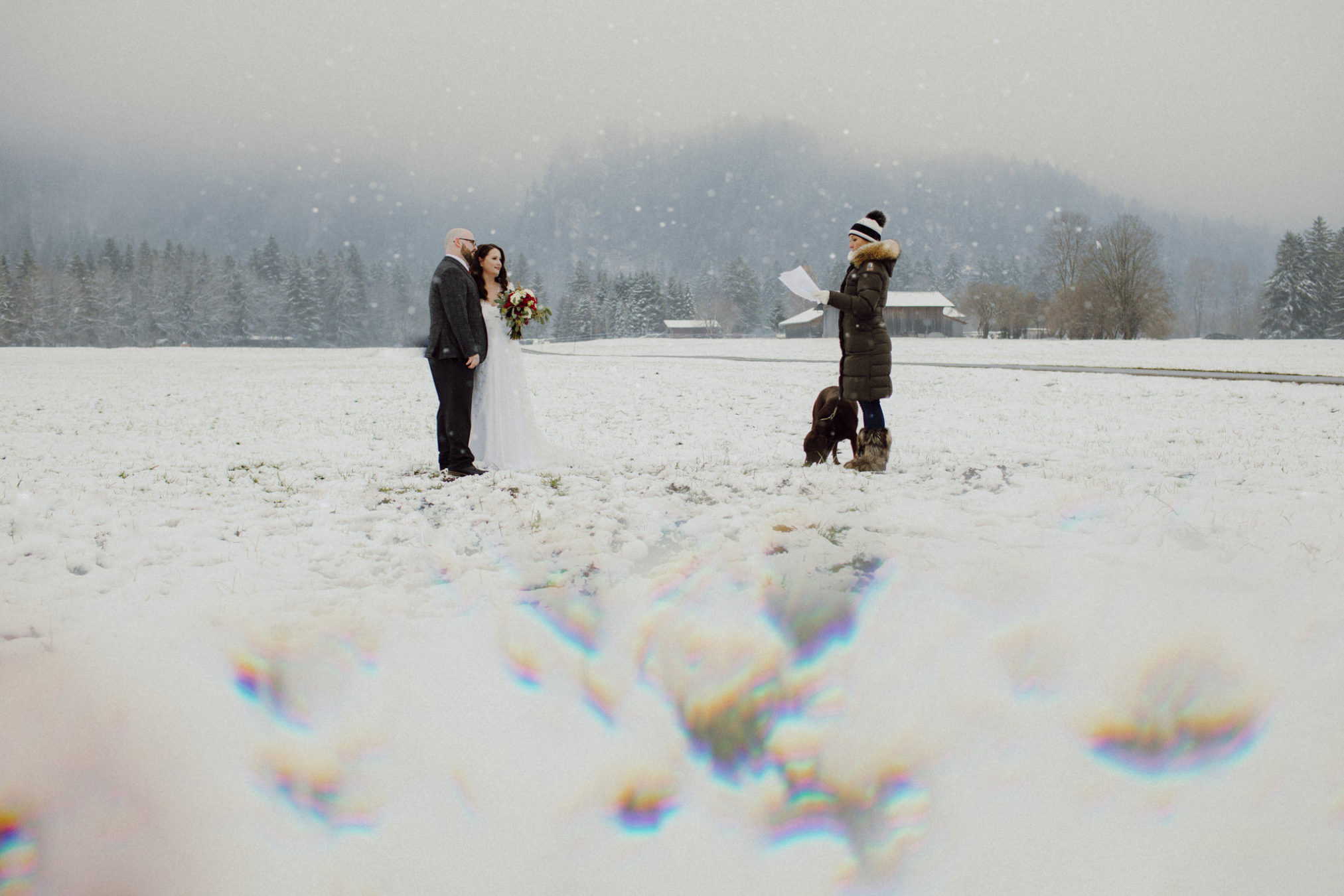 winter elopement ideas