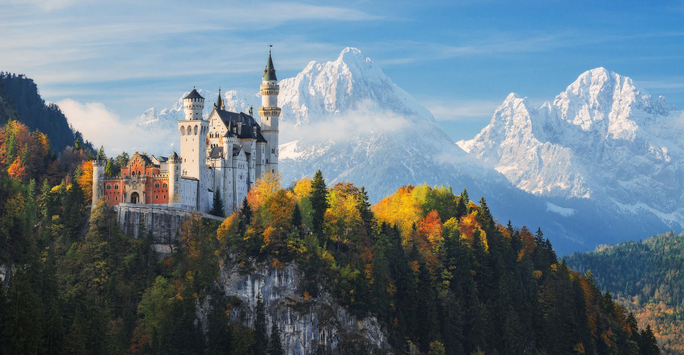 neuschwanstein castle to say I do in germany