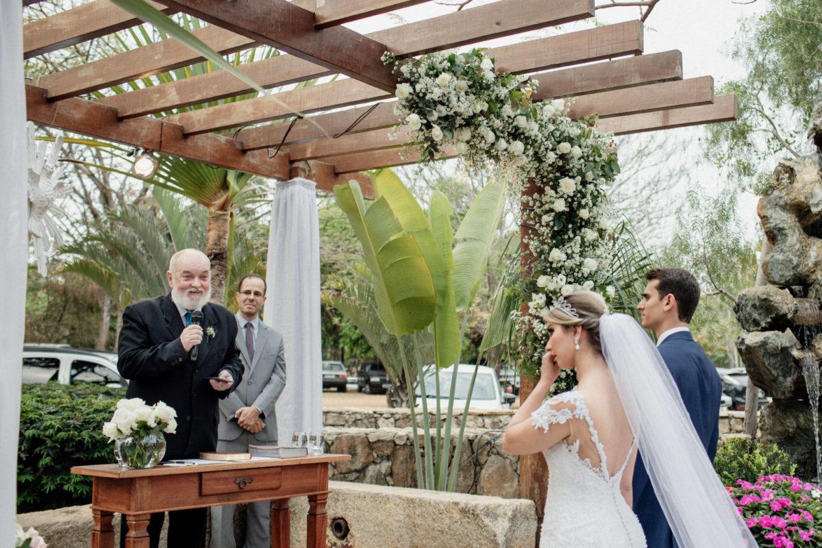 emotional fairy tale wedding