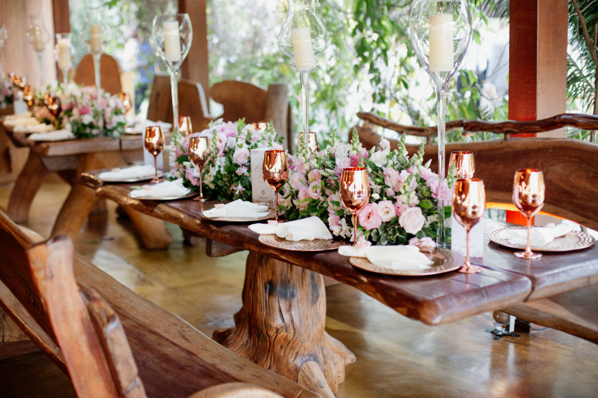 wedding table dekor