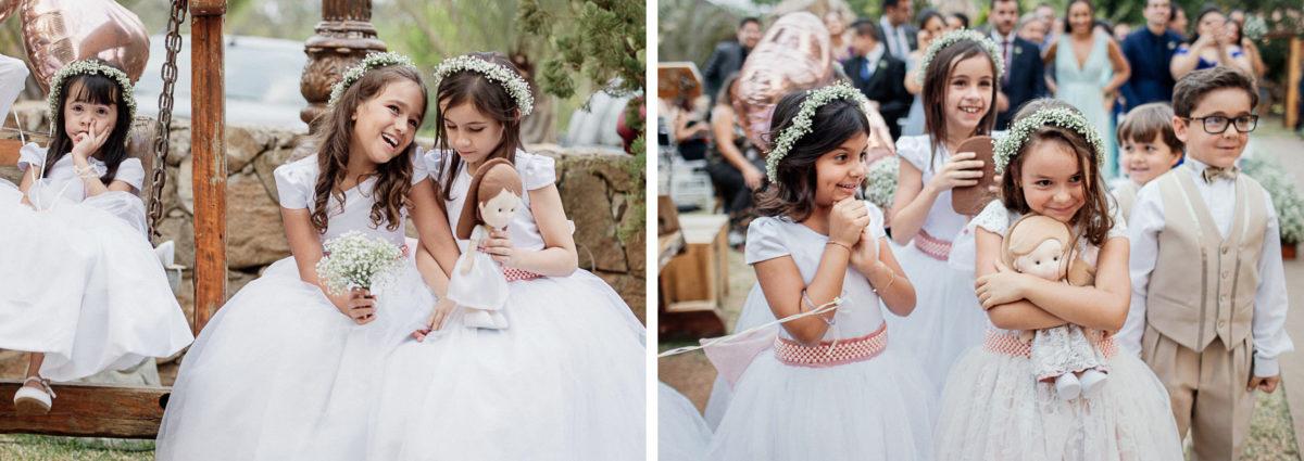 sweet kids in a wedding