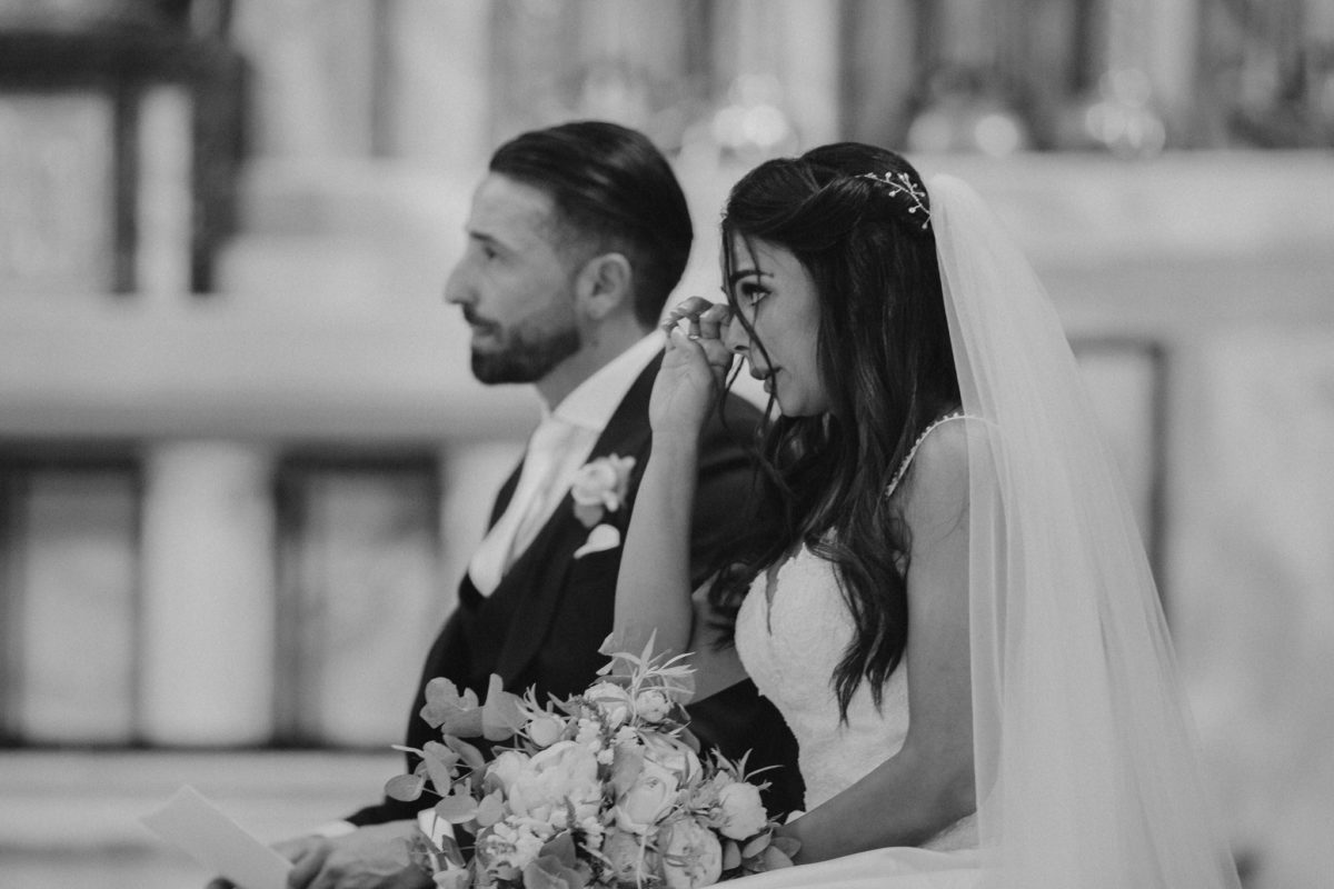 best emotional photos of bride and groom