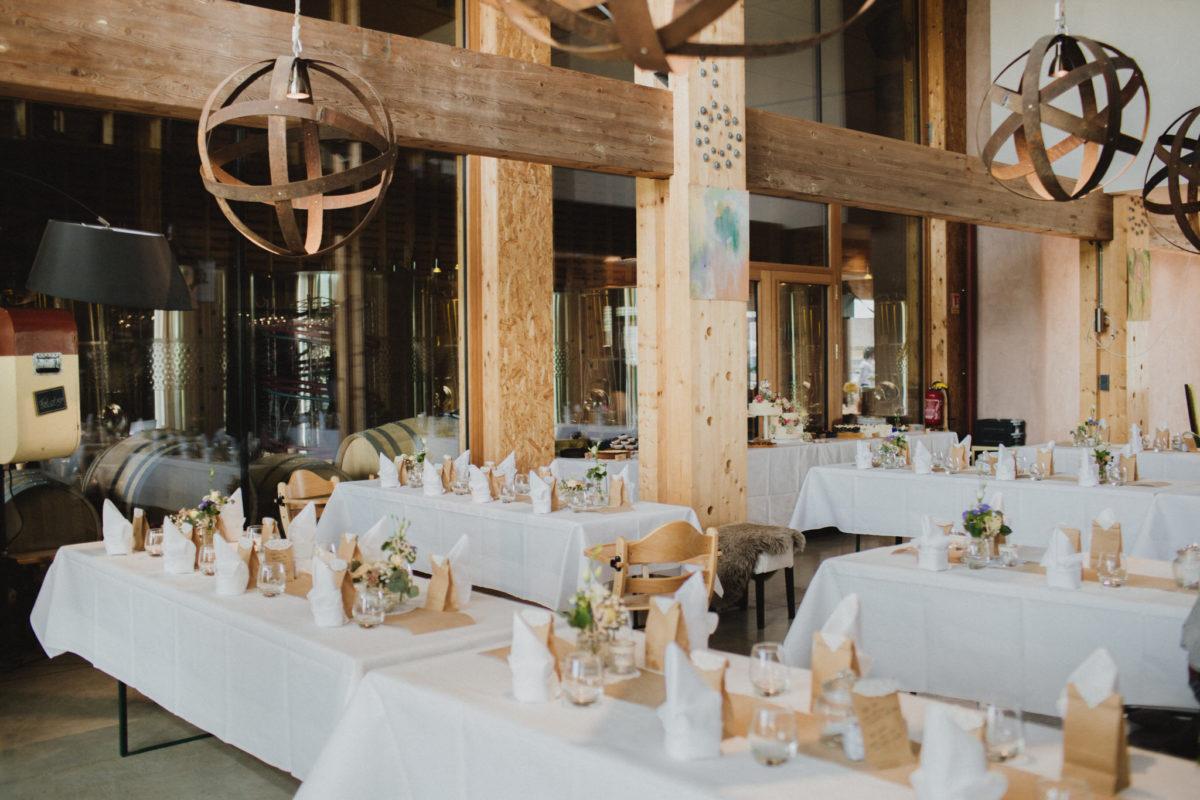 destination wedding deko