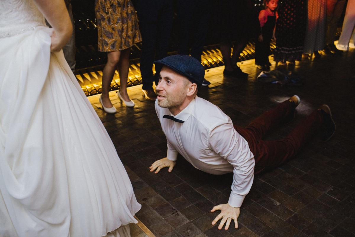 medley dance at the wedding