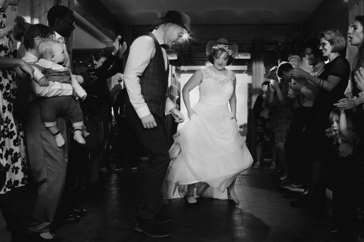 cowboy wedding dance