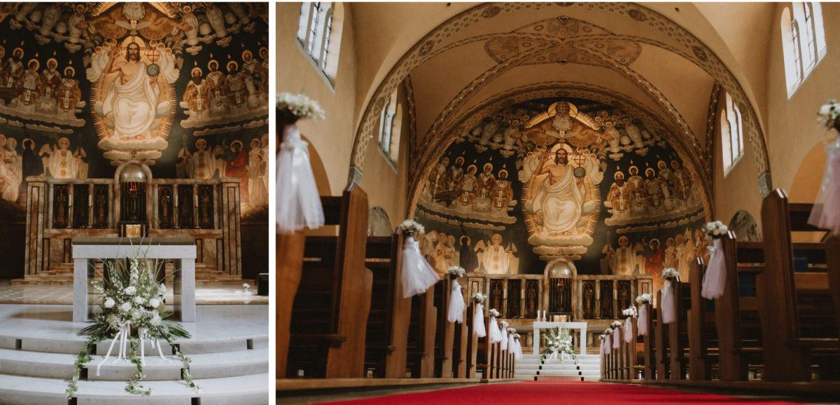 Zürich church wedding