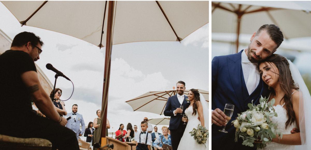 tender wedding photos